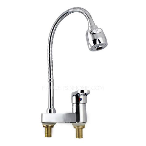 discount full rotatable  holes cheap kitchen faucet