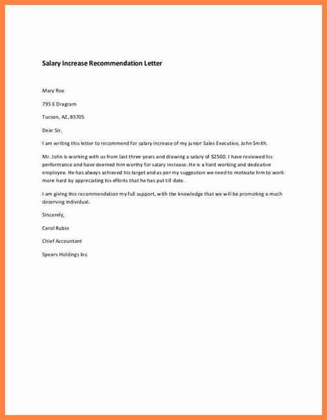 Sle Letter For A Raise 7 How To Write Salary Increase Letter Salary Slip
