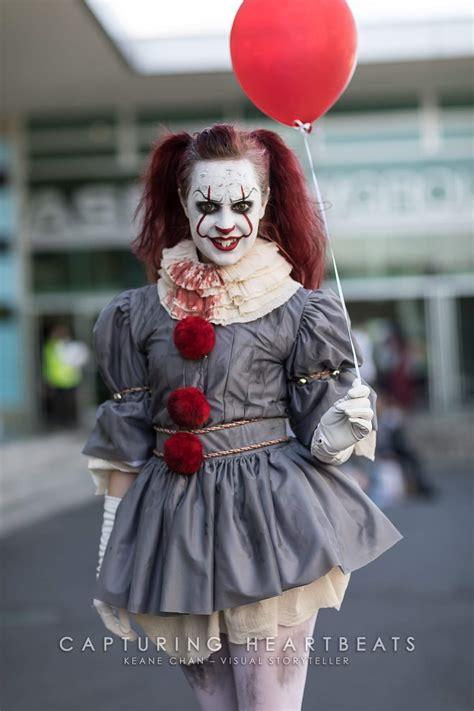 happy halloween    female pennywise costume