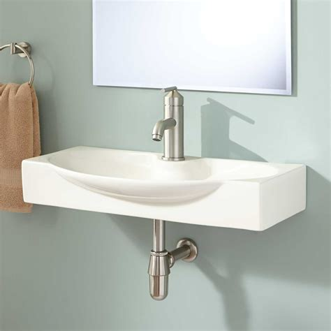 wall mount sink bathroom ronan wall mount bathroom sink bathroom