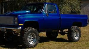 another 85 chevy truck lifted jacked up trucks