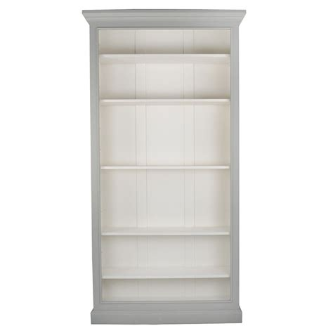 classical grey washed bookcase