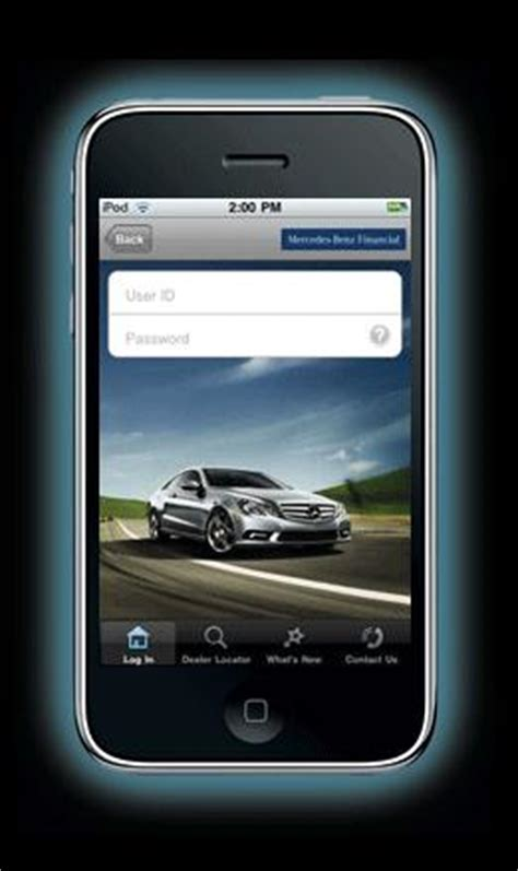 Mercedes Financial Phone by Benzblogger 187 Archiv 187 Mercedes Financial Iphone App