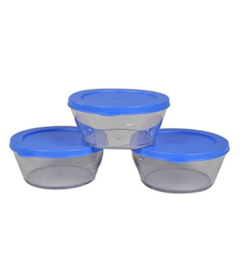 Clear Bowl Set 3pcs Tupperware tupperware clear bowl container medium 3 pcs by