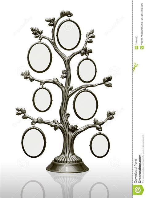 Metal Family Tree With Frames Stock Photo Image 7944050 Vintage Family Frames Tree Stock Image Image 32018791
