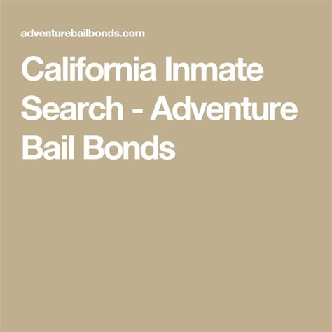 California Inmate Records 25 Best Ideas About County Inmate Search On