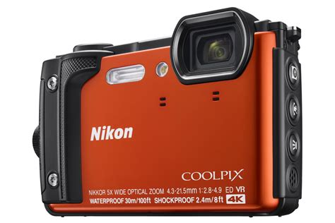 nikon rugged nikon coolpix w300 rugged with 4k recording announced in india