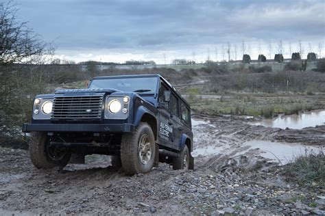 electric land rover land rover to showcase electric defender in geneva