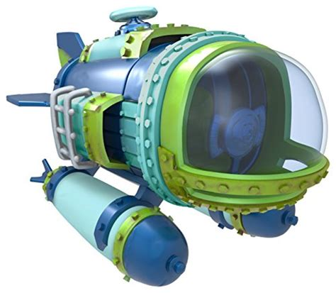 Kaos Diver P skylanders superchargers vehicle dive bomber character