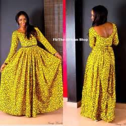 Just fashion with derabi ankara print maxi dresses