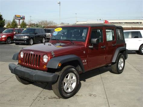 Jeep Dealers Knoxville Tn Find Used 2007 Jeep Wrangler Unlimited X Sport Utility 4