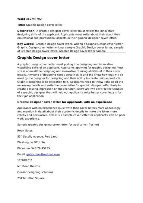 sle application letter design position sle graphic design graduate cover letter 28 images
