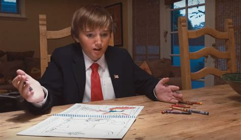 donald trump with kid trump kid runs for president