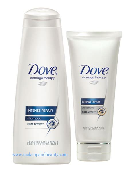 Shoo Dove Intensive Repair dove haircare range in a new avatar