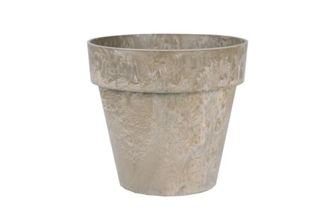 Artstone Planters Uk by Artstone Planter In Taupe With Inbuilt Drainage