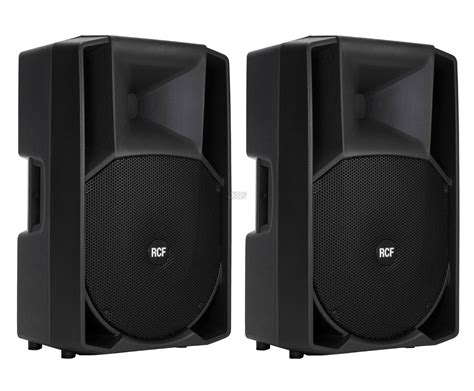Speaker Rcf Original pair rcf 715 a 750w rms professional active speakers