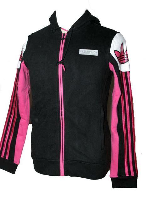 Jaket Adidas Navy Pink By Snf2012 adidas originals s black pink hardcourt hooded