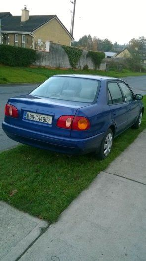 Home Ready Address Lookup 1999 Toyota Corolla 13 Nct Ready For Sale In Myshall Carlow From Abbey97