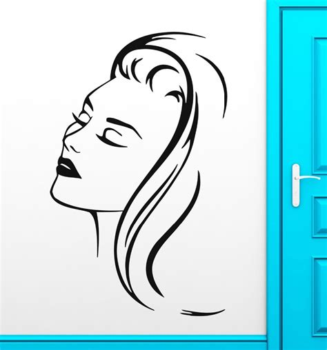 Tokomonster Barbershop 8 Wall Decal Sticker Size 23 barbershop salon wall stickers decal hair hairstyle in wall stickers from home