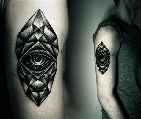Dotwork Eye Tattoo | arm eye dotwork tattoo by kamil czapiga