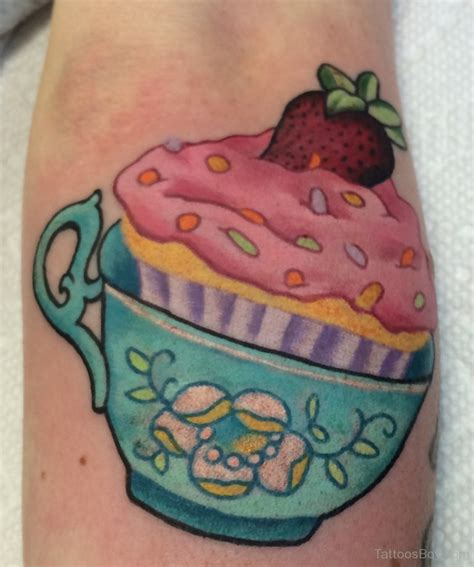 cupcake tattoo designs cakes cupcakes tattoos designs pictures