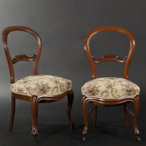 paire de chaises en acajou d 233 poque louis philippe