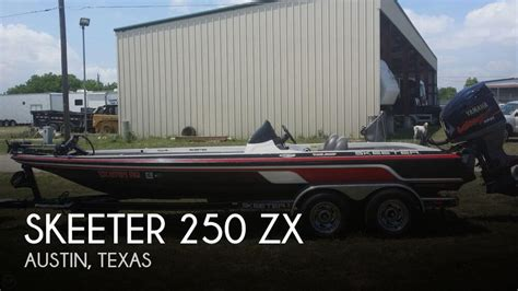 fishing boats for sale austin tx canceled skeeter 250 zx boat in austin tx 046687