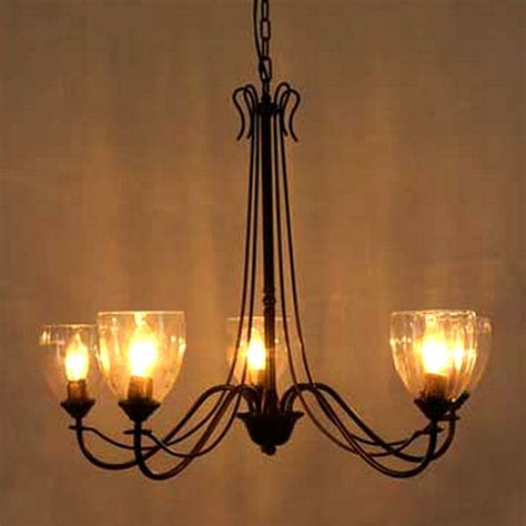 clear glass chandelier shades northic clear glass shades chandelier 7460 browse