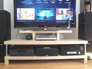 ikea tv table lack tv bench how it should be ikea hackers ikea hackers