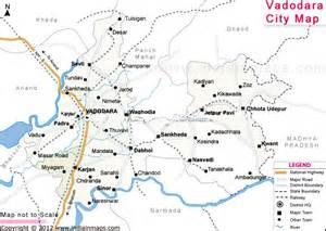 baroda map vadodara city map city map in india city