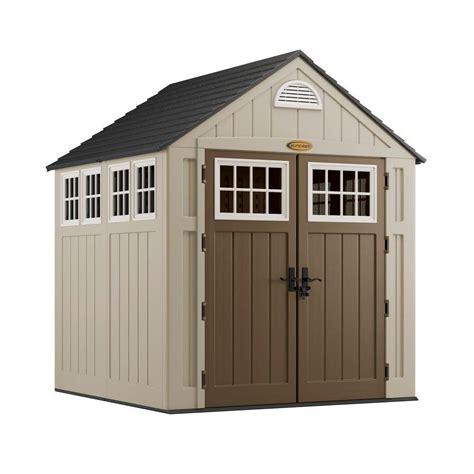 leisure season extra large storage shed  home depot
