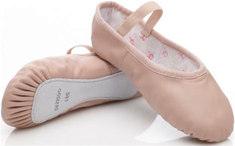 ballet shoes pink leather bunnyhop ballet shoes with pre sewn elastic
