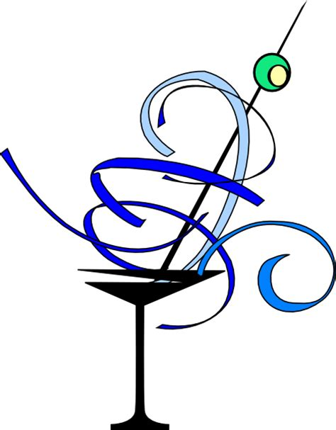 blue martini clip art martini glass clip art at clker com vector clip art
