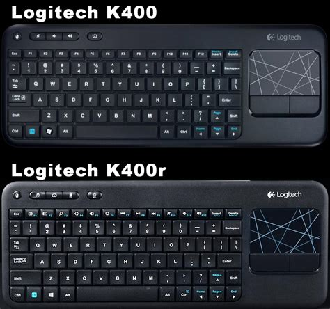 Dijamin Logitech Wireless Keyboard K400r keyboard logitech k400 plus wireless keyboard w