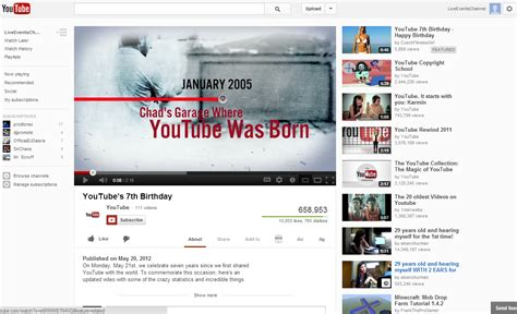 new youtube layout october 2012 youtube live streaming youtube new watch page layout