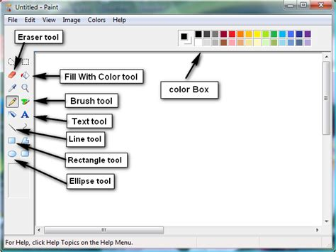 computer drawing tool how to draw computer paint
