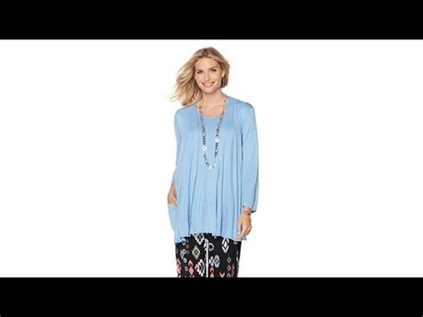 Hq 13984 Knitted Set Top 1 antthony quot the multiplier quot 2piece vest and tunic knit set
