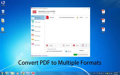 convert pdf to word high resolution widsmob converterpdf full windows 7 screenshot windows 7