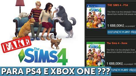 the sims 4 console the sims 4 para consoles imagem falsa pets
