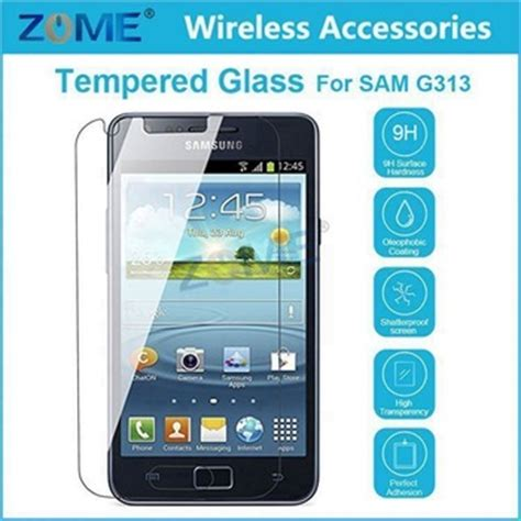 Tempered Glass Samsung Gal V G313 mobile phone tempered glass screen protector wholesale