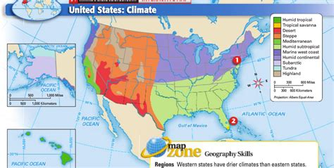 usa map climate zones united states climate map thefreebiedepot