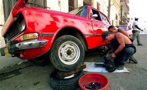 Lada Miami Viejos Autos Cubanos Reciben Repuestos De Miami