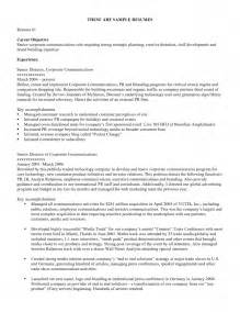 exles of resumes objective statement resume