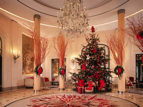 top ten hotel lobby christmas decorations best hotel lobbies for the holidays