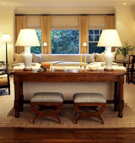 Idea Put Desk Behind Loveseat As Sofa Table Put Couch Living Room Sofa Table