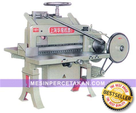 Mesin Potong Kertas Kecil mesin potong kertas dq 201 terbaru mesin cetak