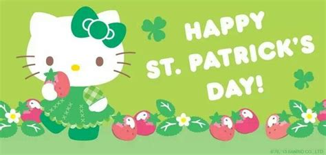 hello kitty wallpaper st patricks day 21 best holiday images on pinterest