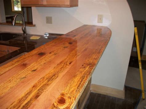 Wood Countertop by Wooden Kitchen Countertops For A Trendy Look