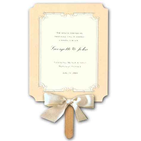 paddle fan wedding program template free template for wedding program paddle fan backupmilitary