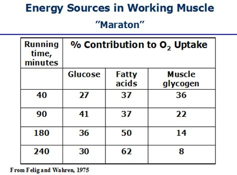 carbohydrates yield how much energy work and energy in muscles